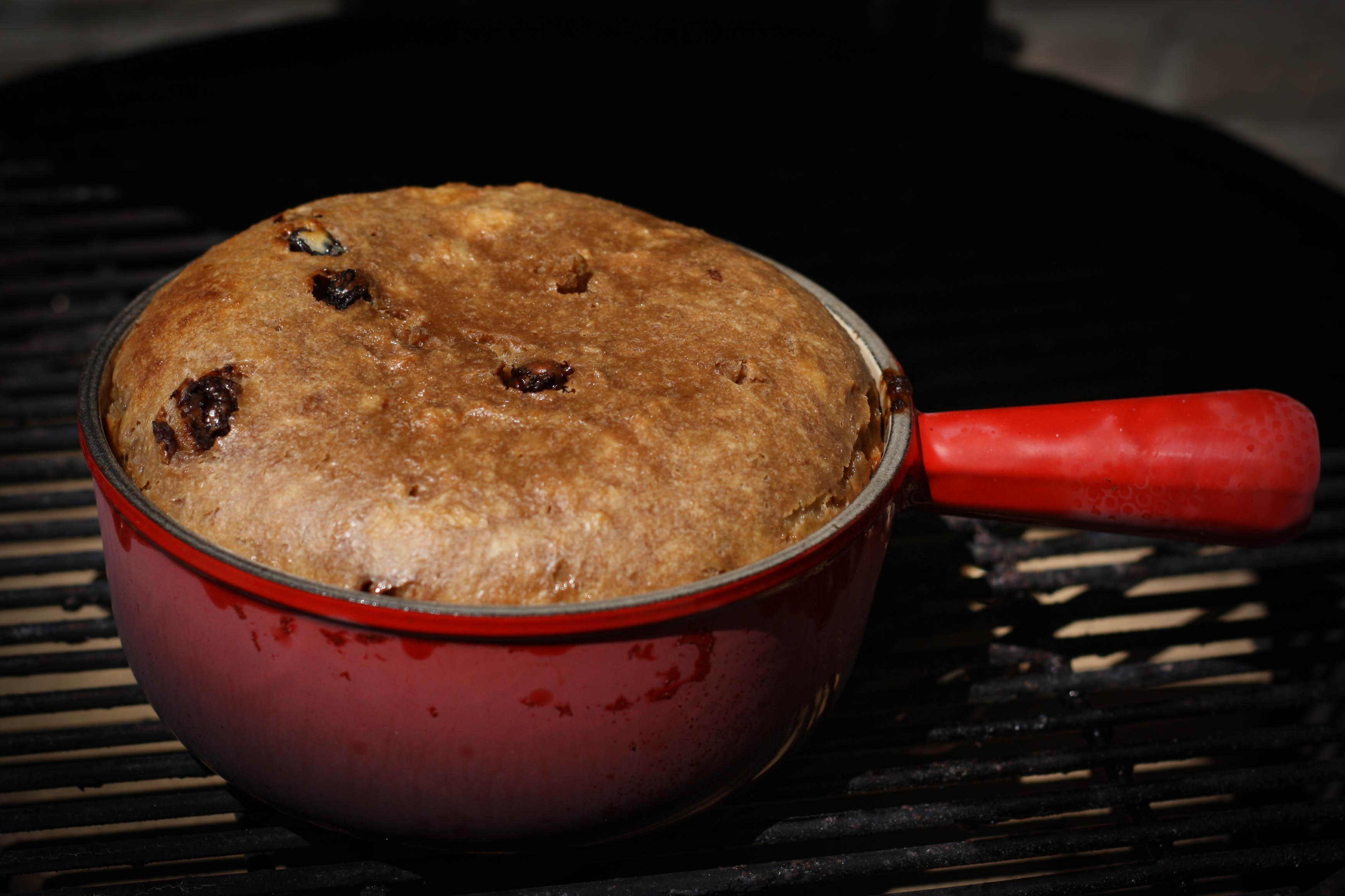 BBQ Kids: Chocolate Breadpudding