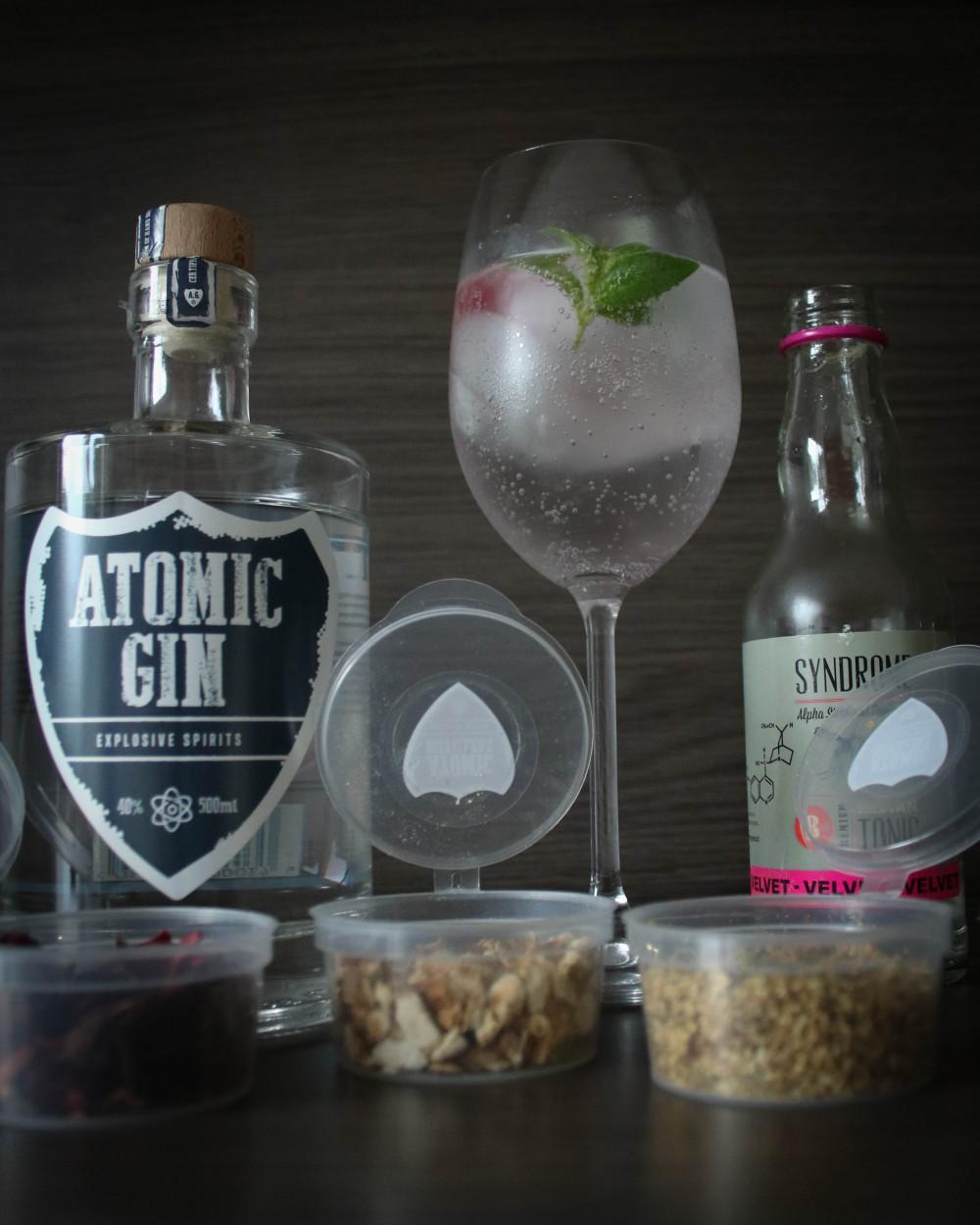 Belgian Gin tonic Recipe (Atomic Gin and Syndrome Tonic)