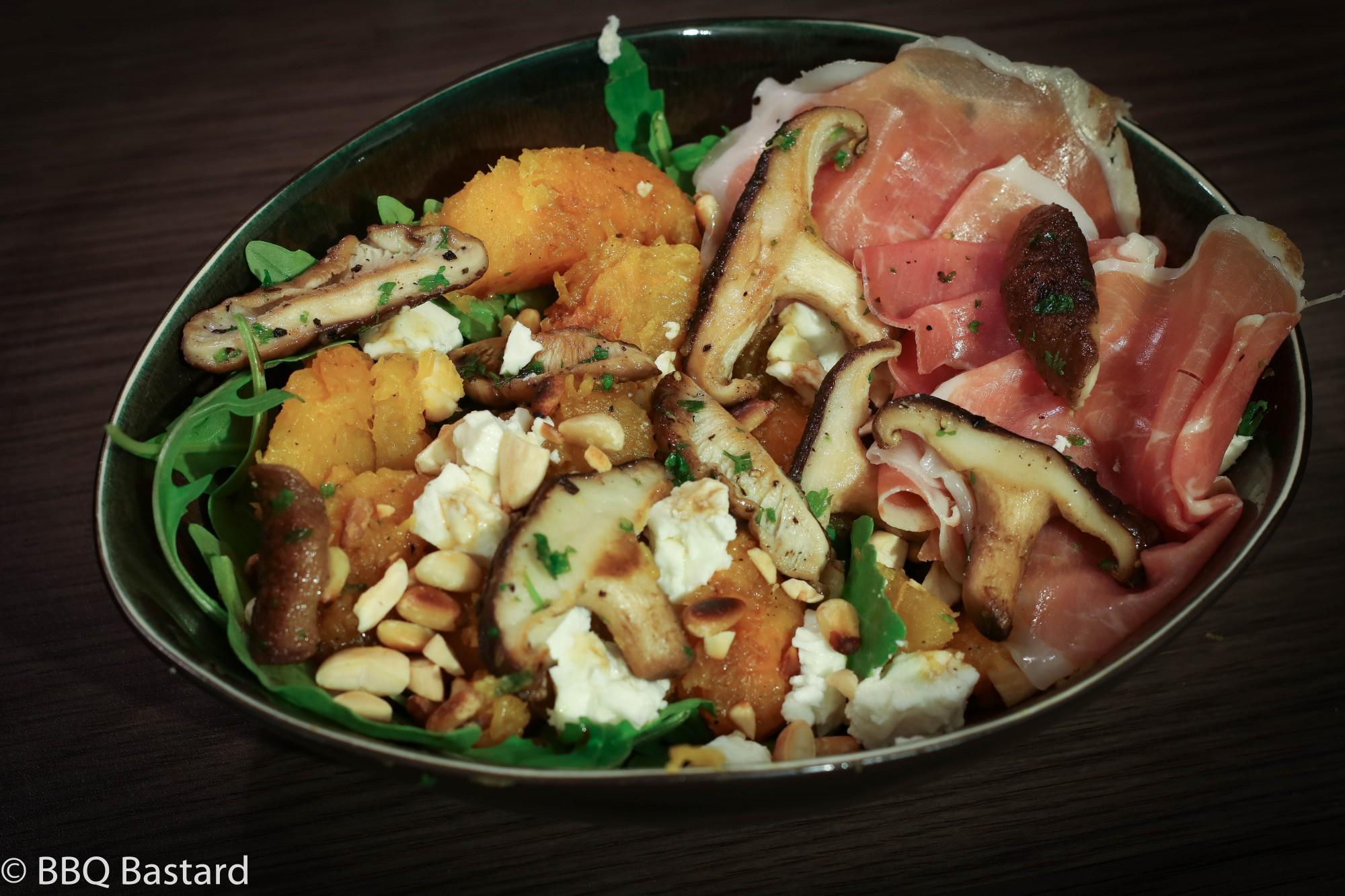 Caveman style Pumpkin Salad