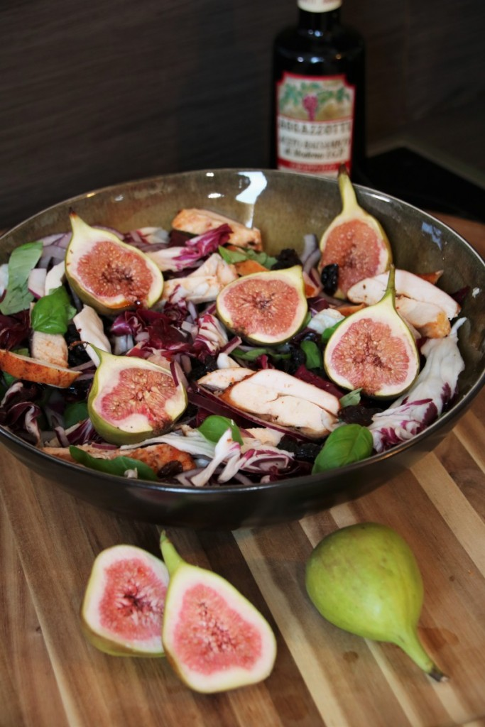Smoked Chicken Salad with Figs