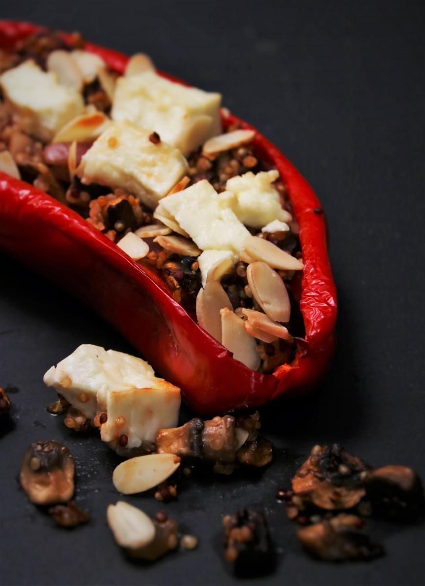 Quinoa stuffed Peppers (2 pers.)