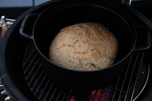 Barbecue bread