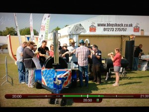 Happy days with the British BBQ Society at Jamie Oliver's Big Feastival
