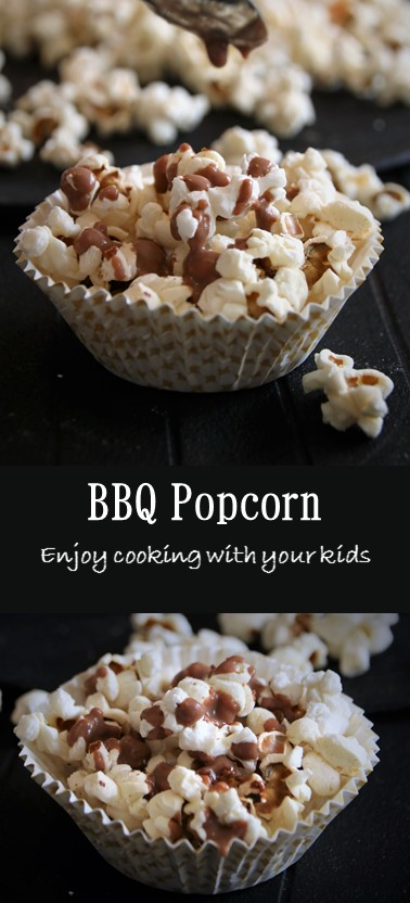 Looking for a way to involve your kids in your favorite cooking method? This BBQ Popcorn recipe will be fun for both!