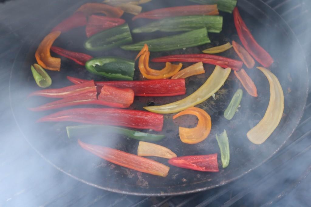 Smoked hot pepper powder