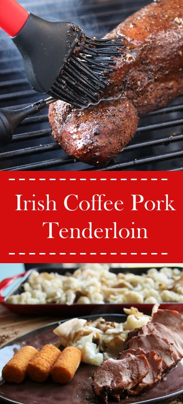 Irish Coffee pork tenderloin