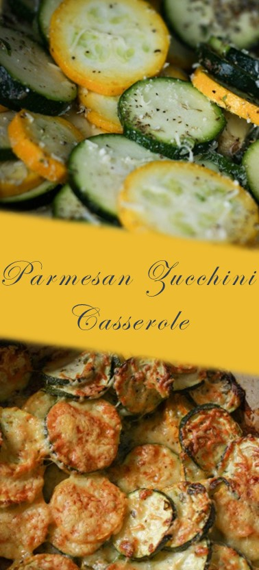 This delicious Parmesan Zucchini Casserole will star your next BBQ.