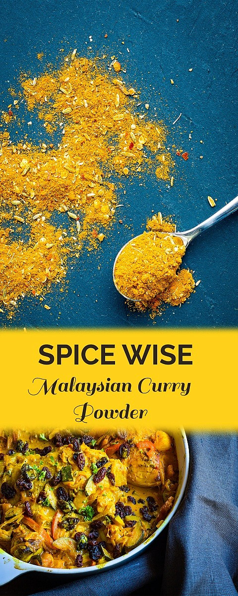 Malaysian Curry Powder recipe inspired on the recipe by the book