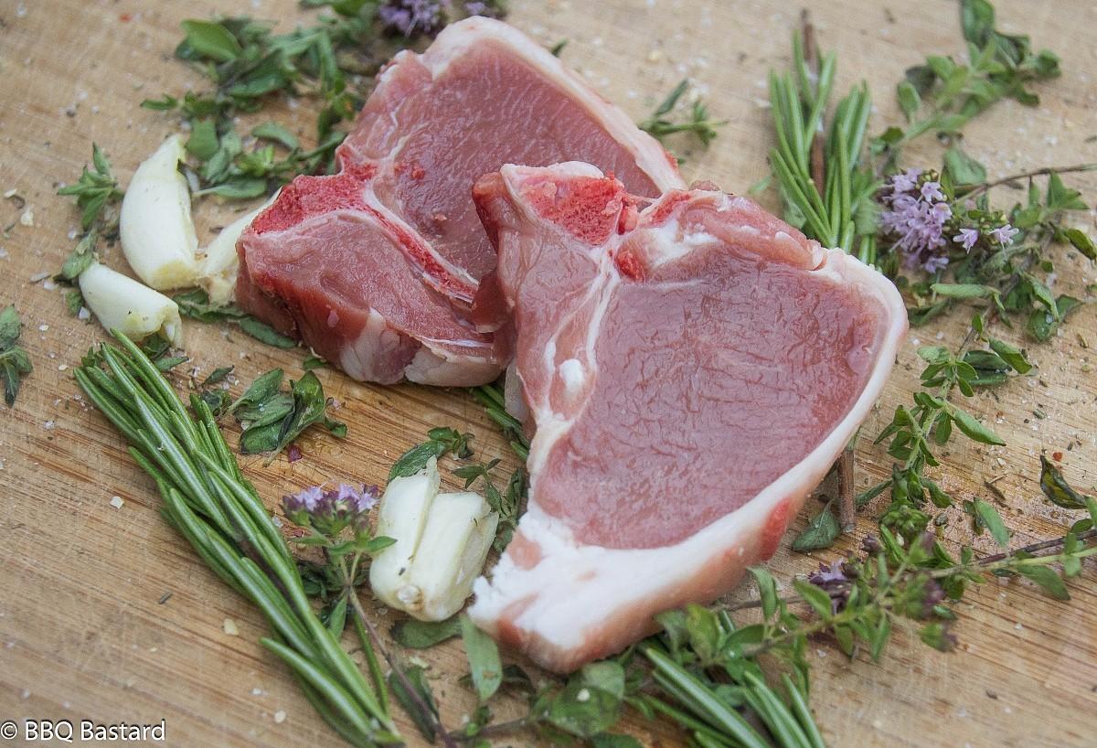 Provencal Lamb chops