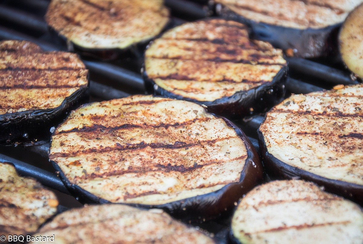 Tasteful sides: Grilled Middle Eastern Eggplant