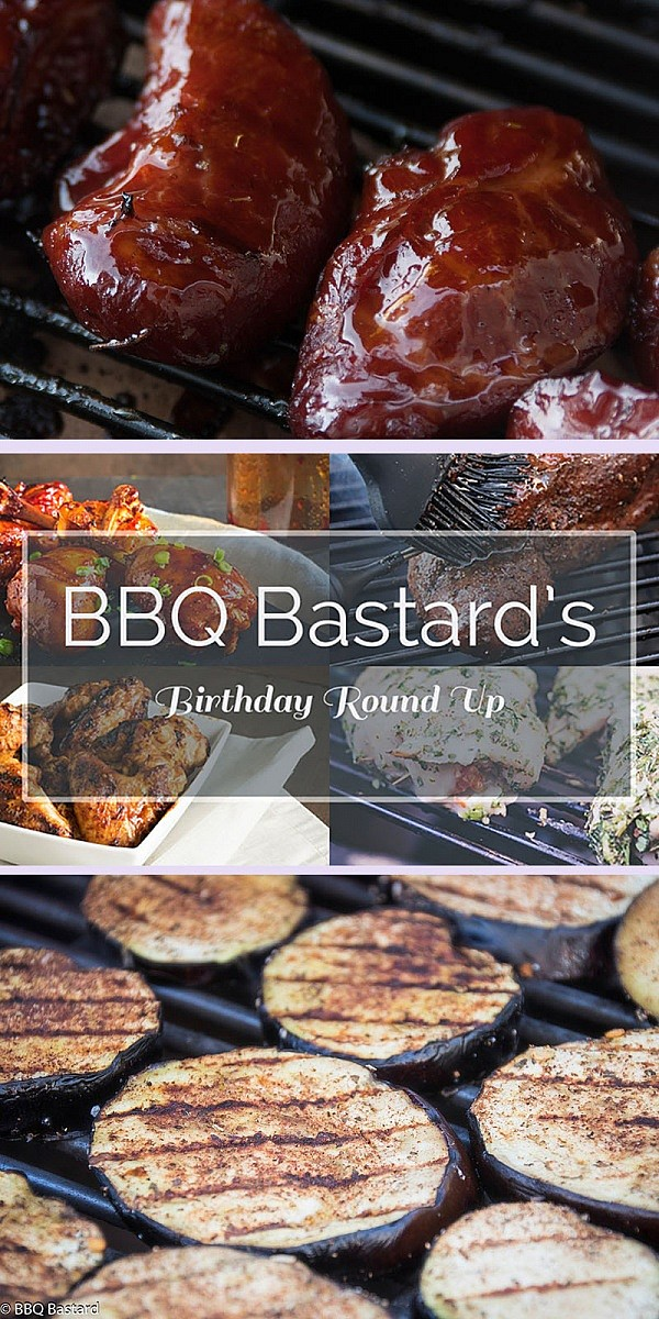 BBQ Bastard Birthday round up: 7 recipes summarizing the experience on my first year blogging