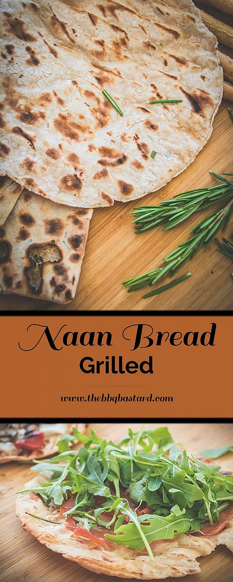 Easy grilled Naan bread