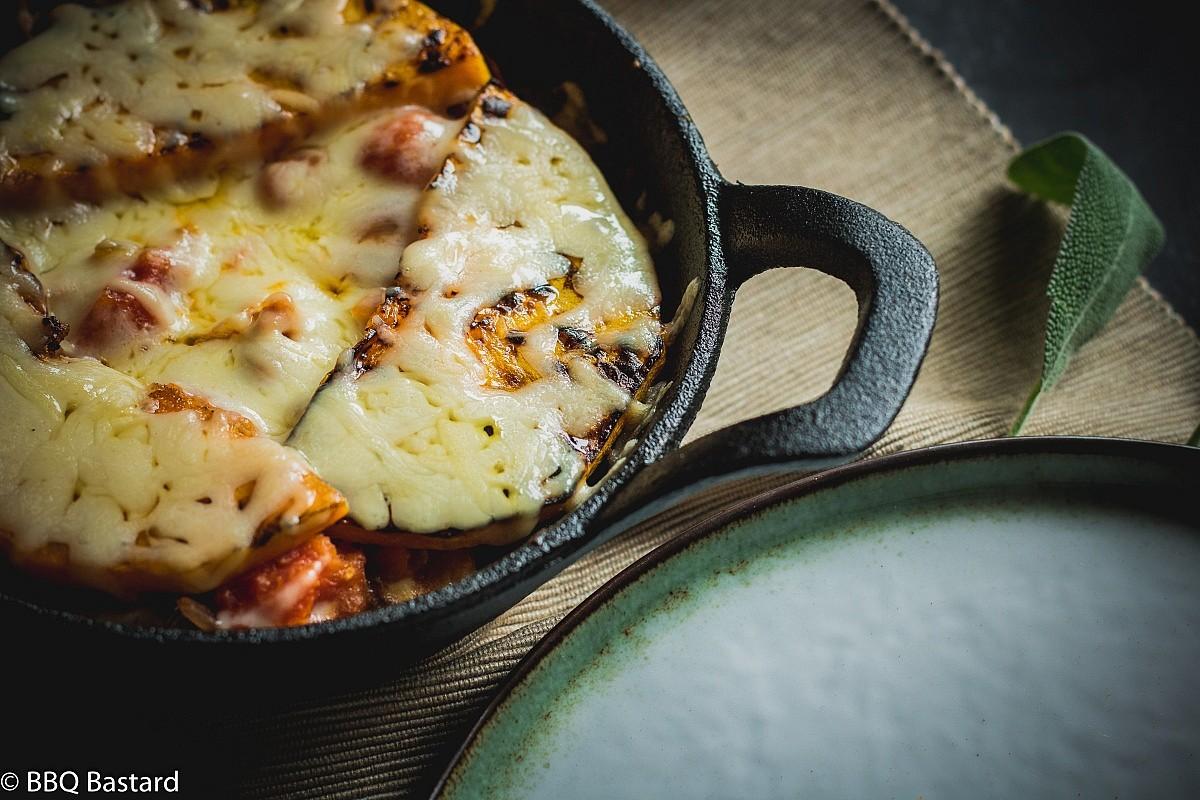 Healthy Grilled Butternut Lasagna (Veggie Friendly)