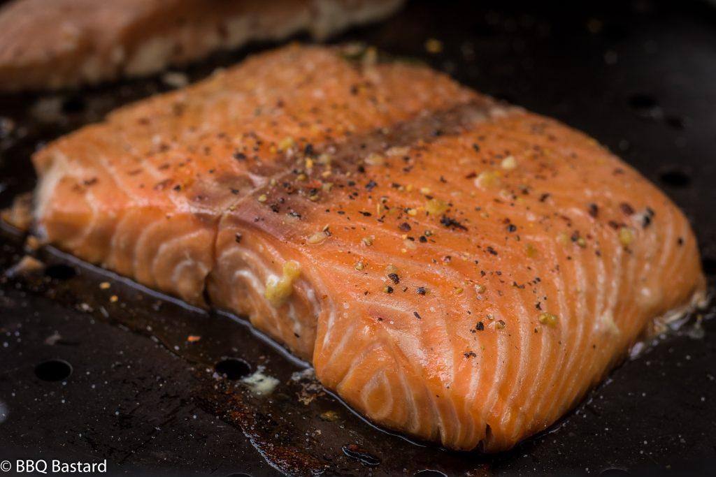 Smoked sweet lemon pepper salmon - BBQ Bastard