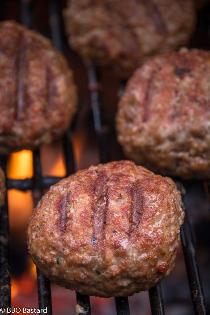 Smoked meatballs shakshuka