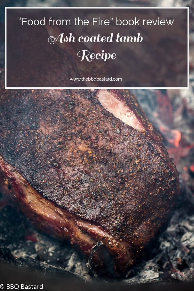 The ash coated lamb made on my kamado grill is one of the many delicious recipes in the cookbook food from the fire by the swedish tv chef Niklas Ekstedt. Read all about the book and the recipe for this special meal in this review with recipe .