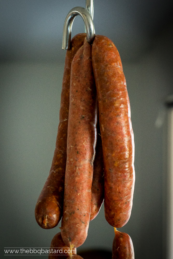Homemade chorizo