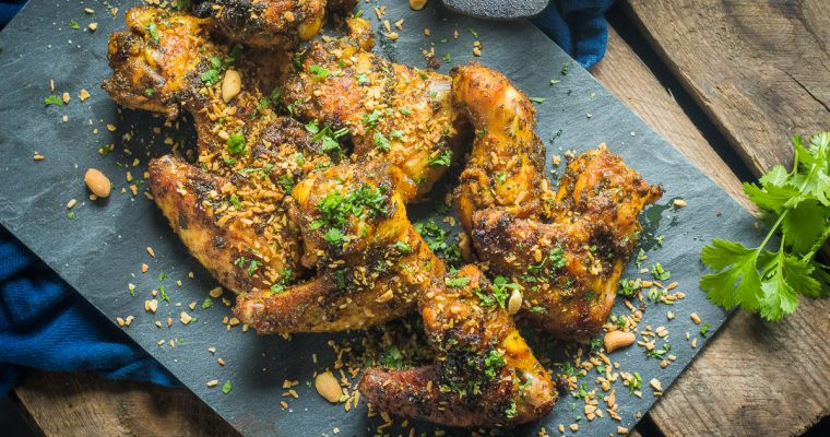 Tweety Wings – Coke brined chicken wings