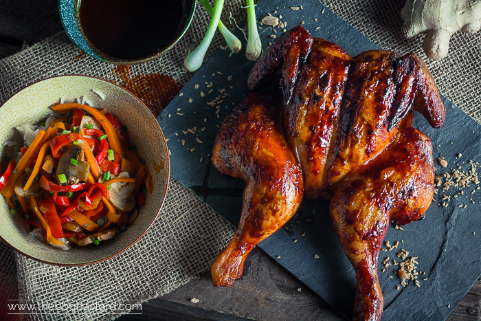 Thai Roadkill Chicken – Sriracha Ginger glazed