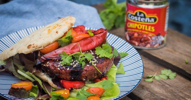 Mole poblano burgers – the crazy mexican burger