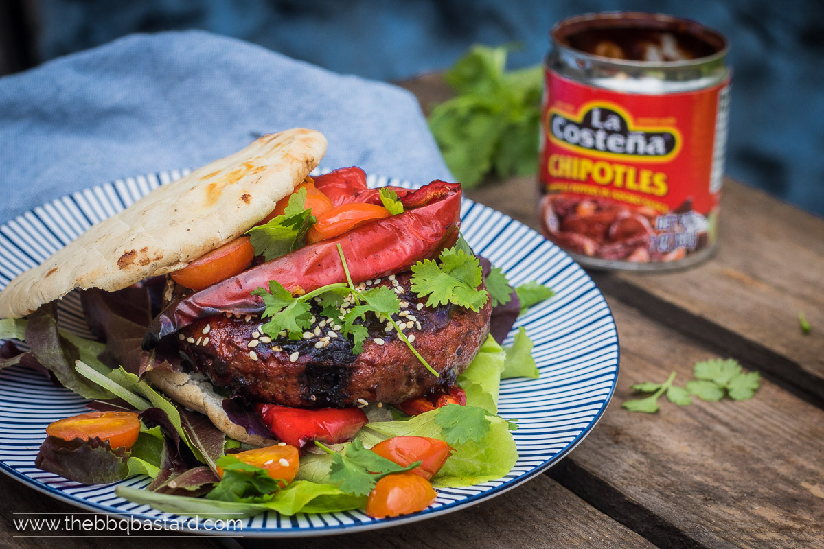 Mole poblano burgers – the crazy mexican burger