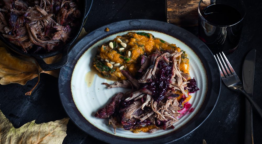Pulled Wild Boar – Wild game for christmas?