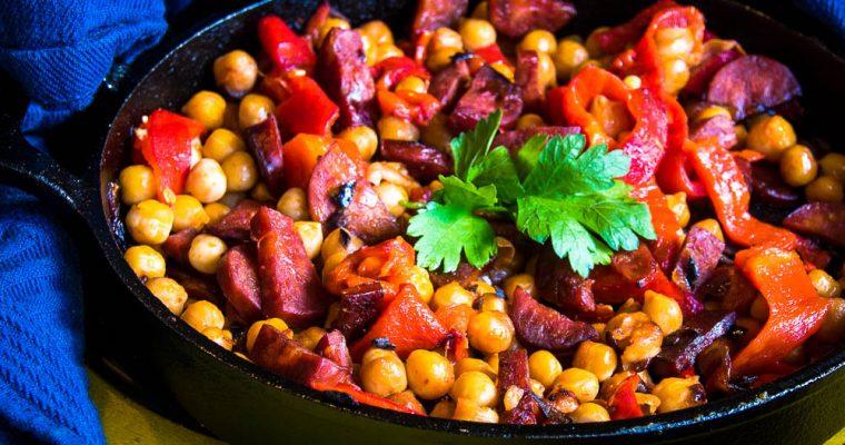 Ensalada de Garbanzos – chickpea salad