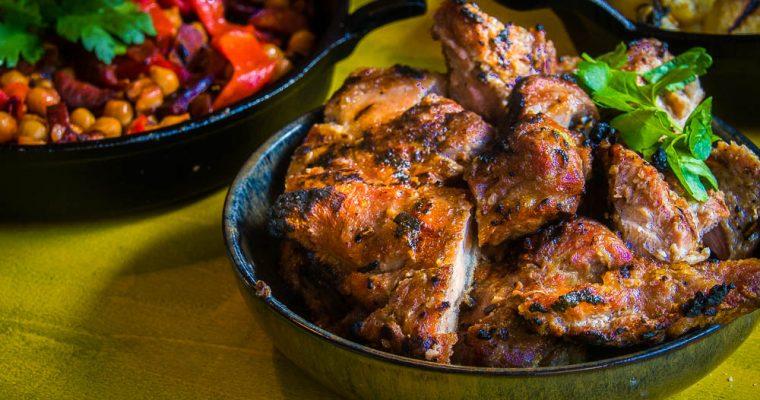 Grilled Pluma Ibérico – Crunchy piece of heaven