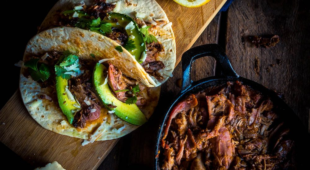 Tinga Taco – Pulled Turkey in Adobo