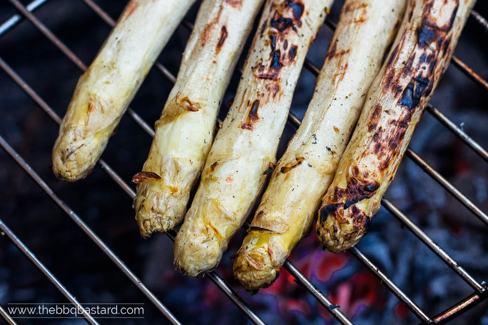 Grilled Asparagus a la Flamande – a local classic