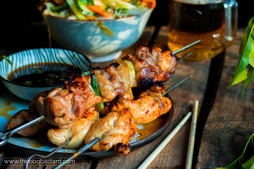 Yakitori – Japanese style chicken skewers
