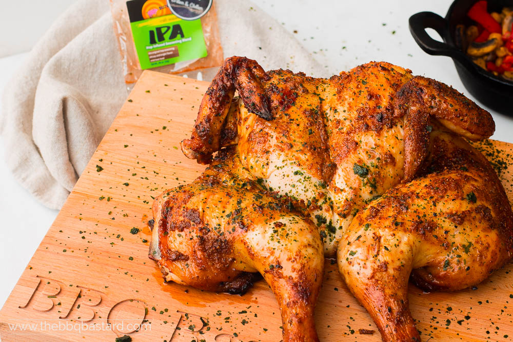Roadkill chicken with IPA rub – Dizzy Pig Review