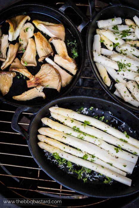 White asparagus stew