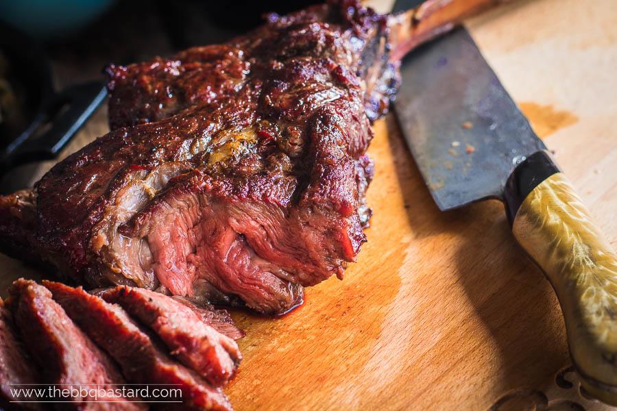 Reverse seared Tomahawk Steak – Meatporn mania