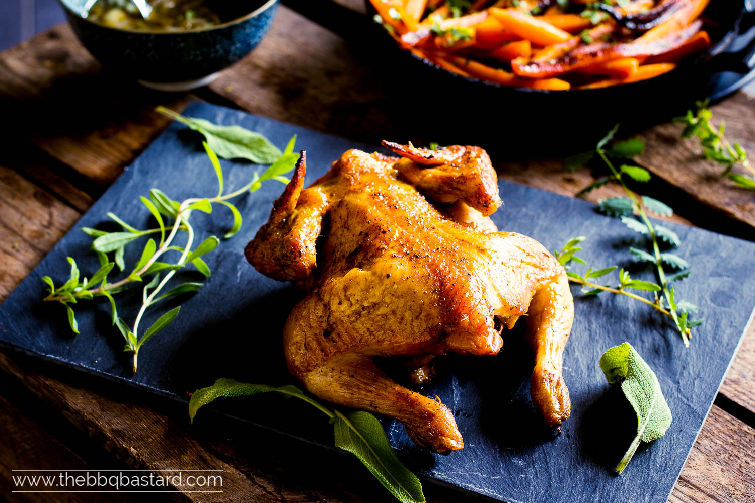 Golden Cockerel – Little Rooster on the BBQ