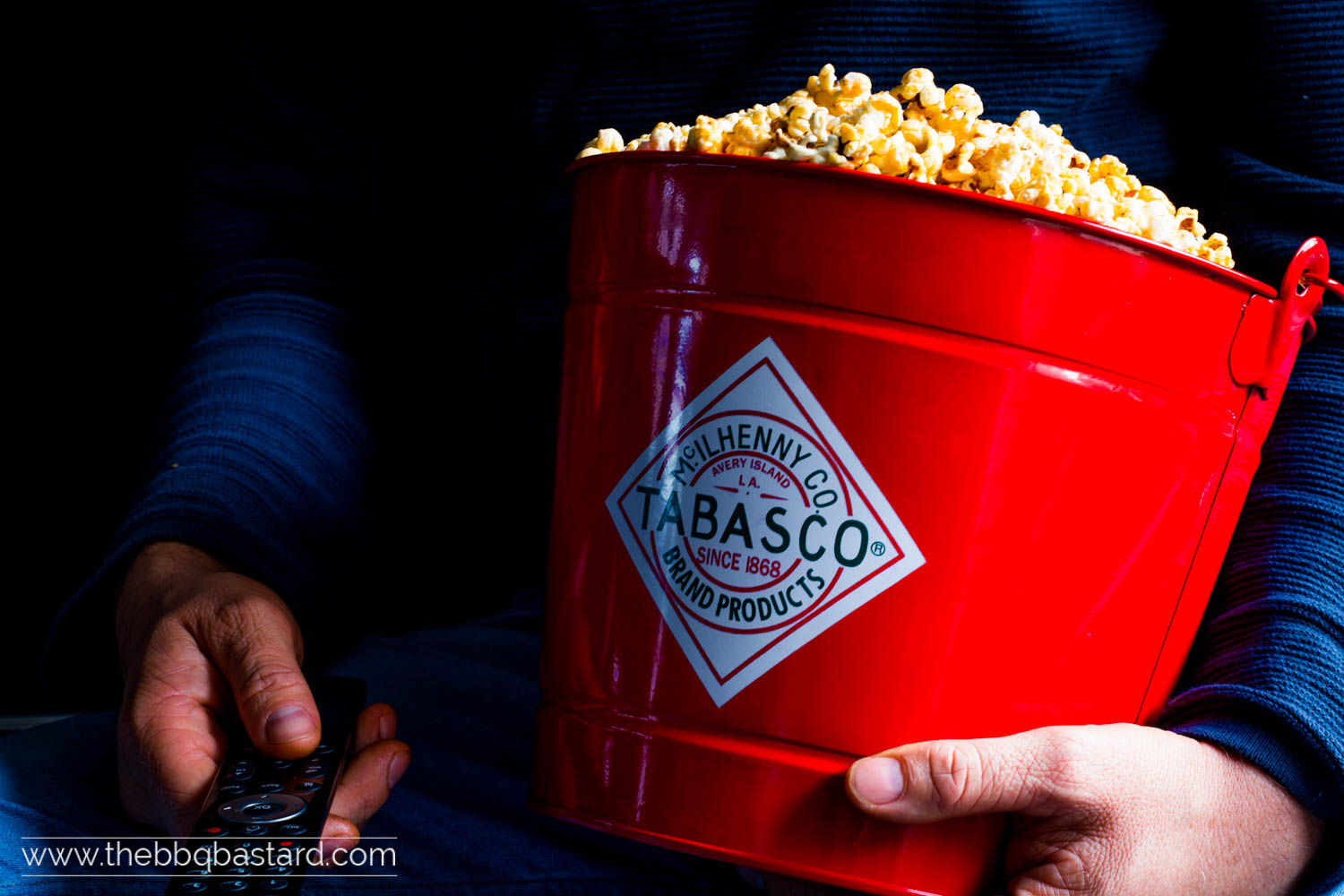 Spicy Popcorn for a hot movie night!