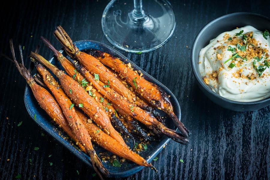 Gepekelde worteltjes