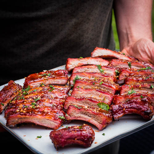 Smoky Sweet ribs