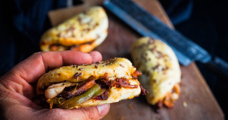Korean BBQ Chicken Buns