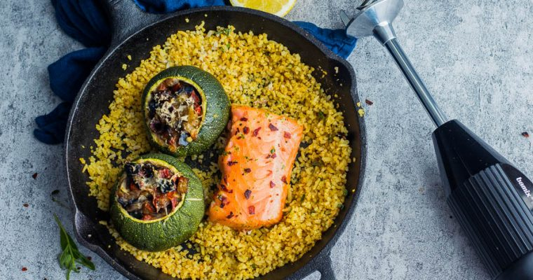 Mediterranean Stuffed Zucchini – Zon in je bord