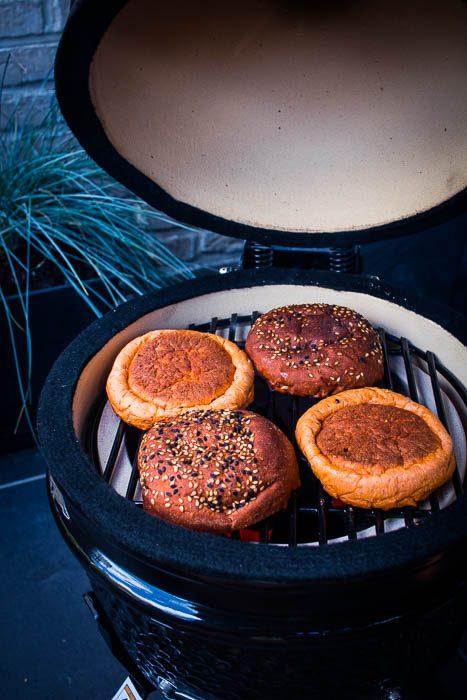 Broodje grillen
