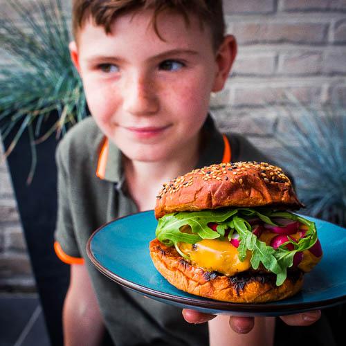Basic burger