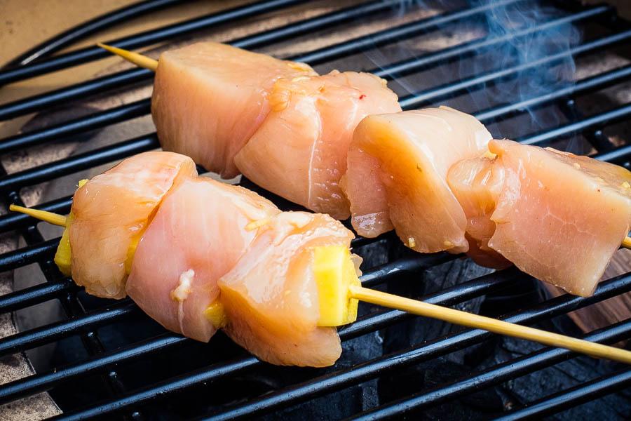 yakitori direct grillen