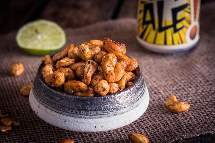 Gerookte Mexicaanse borrelnootjes – lekker aperitieven