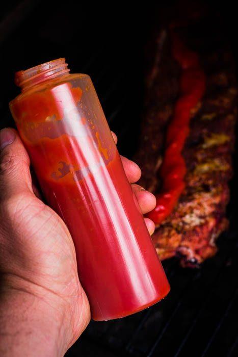 Gefermenteerde ketchup en Rotte ribben (maar dan lekkere)