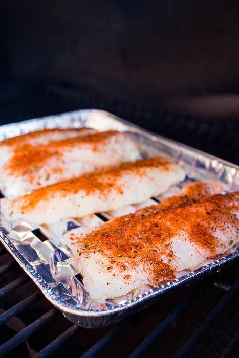 Smoked cod fish taco - Taco met gerookte kabeljauw