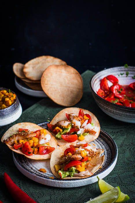 Smoked cod fish taco - Taco Gerookte Kabeljauw