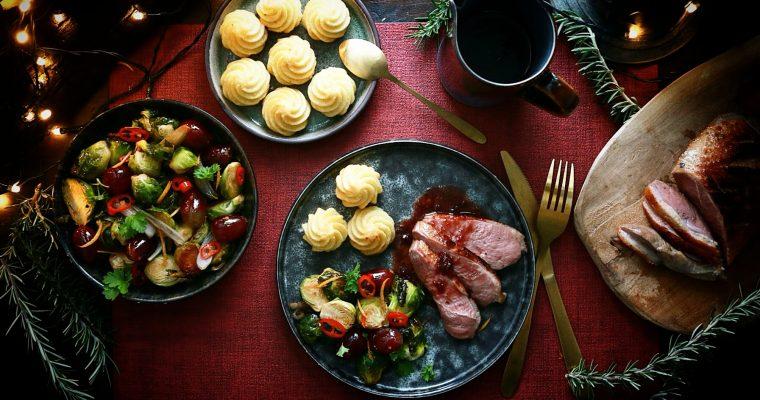 Gerookte eendenborst met Porto saus – A Christmas classic