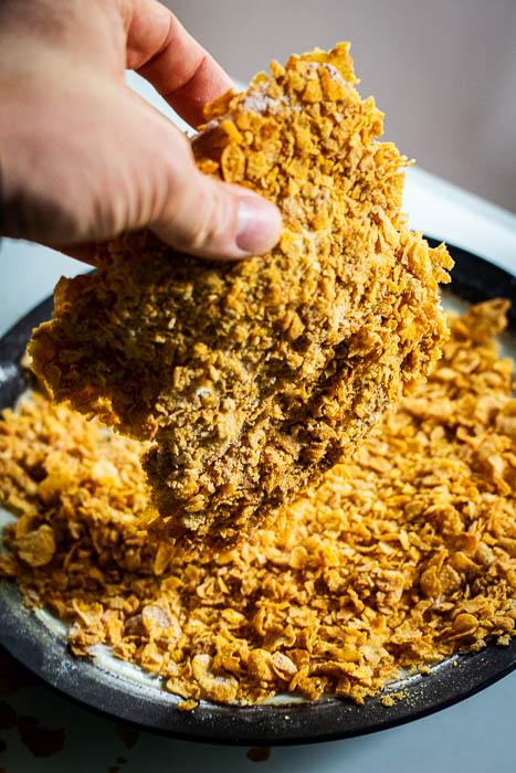 homemade kip schnitzel