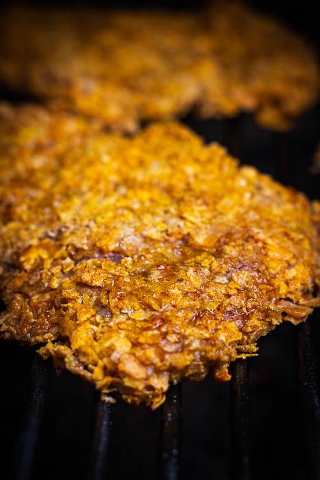 homemade kip schnitzel bbq